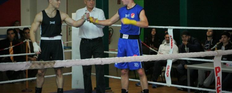 Boxkampf - Siegerehrung